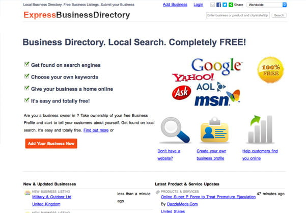 Express Business Directory