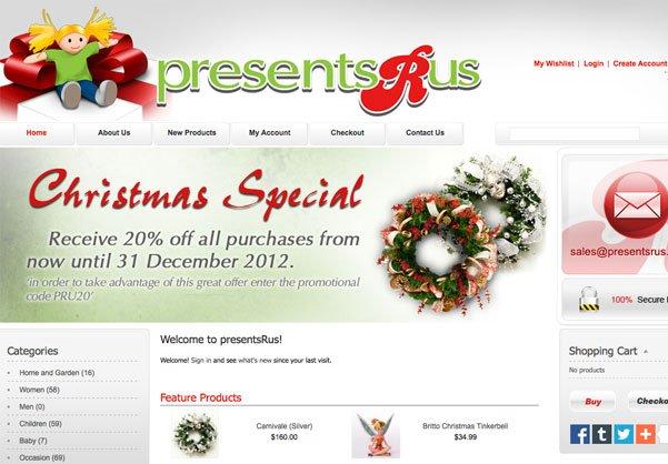 Presents R Us